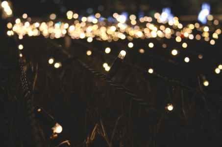 lighted string lights